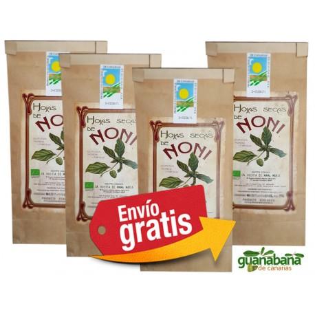 Hojas Noni Ecologico Canarias